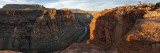 River Passing Through Mountains, Toroweap Point, Grand Canyon National Park, Arizona, USA Autocollant mural par Panoramic Images