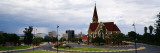 Trees in Front of a Church, Christuskirche, Windhoek, Khomas Region, Namibia Wall Decal by  Panoramic Images