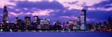 Sunset Chicago Il, USA Wall Decal by  Panoramic Images