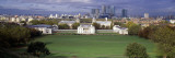 Trees in a Field with Buildings in the Background, Royal Naval College, Greenwich, England Wall Decal by  Panoramic Images