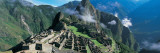 View of Ruins of Ancient Buildings, Inca Ruins, Machu Picchu, Peru Wall Decal by  Panoramic Images