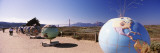 Globe Sculptures, Crissy Field, Golden Gate Bridge, San Francisco, California Wall Decal by  Panoramic Images