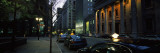 Cars Parked in Front of a Building, Saint Jacques Street, Montreal, Quebec, Canada Wall Decal by  Panoramic Images