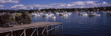 Boats in the Sea, Bass Harbor, Hancock County, Maine, USA Wall Decal by  Panoramic Images