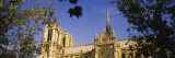Low Angle View of a Cathedral, Notre Dame Cathedral, Paris, France Wall Decal by  Panoramic Images