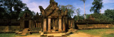 Facade of a Temple, Banteay Srei, Angkor, Cambodia Wall Decal by  Panoramic Images