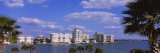 Buildings at the Waterfront, Golden Gate Point, Sarasota Bay, Sarasota, Florida, USA Wall Decal by  Panoramic Images