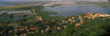 View of a Town at the Riverside, Tonle Sap, Cambodia Wall Decal by  Panoramic Images