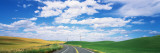 Road Passing Through a Landscape, Whitman County, Washington State, USA Wall Decal by  Panoramic Images