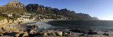 Camps Bay with the Twelve Apostles in the Background, Western Cape Province, South Africa Wall Decal by  Panoramic Images