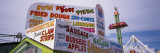 Commercial Signs on a Restaurant, Palace Playland, Old Orchard Beach, York County, Maine, USA Wall Decal by  Panoramic Images