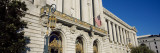 Government Building in City, City Hall of San Francisco, Civic Center, San Francisco, California Wall Decal by  Panoramic Images