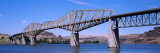 Cantilever Bridge across River, Snake River Bridge, Snake River, Columbia County, Washington State Wall Decal by  Panoramic Images