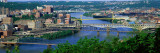 Monongahela River Pittsburgh Pa, USA Wall Decal by  Panoramic Images
