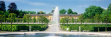 Fountain in a Garden, Potsdam, Germany Wall Decal by  Panoramic Images