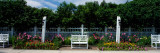 Garden in a Hotel, Grand Hotel, Mackinac Island, Mackinac County, Michigan, USA Wall Decal by  Panoramic Images
