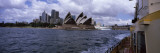 Buildings at the Waterfront, Sydney Opera House, Sydney Harbor, Sydney, New South Wales, Australia Wall Decal by  Panoramic Images