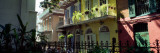 Buildings Along the Alley, Pirates Alley, New Orleans, Louisiana, USA Wall Decal by  Panoramic Images