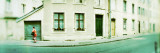 Woman Walking in a Street, Nancy, Meurthe-Et-Moselle, Lorraine, France Wall Decal by  Panoramic Images