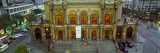 View of a Theatre at Dusk, Theatro Municipal, Sao Paulo, Brazil Wall Decal by  Panoramic Images