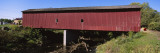 Covered Bridge across a River, Zumbrota Covered Bridge, Zumbrota, Goodhue County, Minnesota, USA Wall Decal by  Panoramic Images