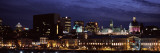 Buildings in a City Lit Up at Night, Bonsecours Market, City Hall, Montreal, Quebec, Canada Wall Decal by  Panoramic Images