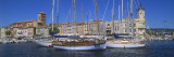 Boats Moored at a Harbor, La Ciotat, Bouches-Du-Rhone, Provence-Alpes-Cote D'Azur, France Wall Decal by  Panoramic Images