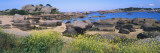 Rock Formations at the Coast, Ploumanach, Brittany, France Wall Decal by  Panoramic Images