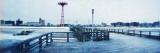 City in Winter, Coney Island, Brooklyn, New York City, New York State, USA Wall Decal by  Panoramic Images