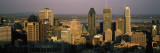 Skyscrapers in a City, Montreal, Quebec, Canada Wall Decal by Panoramic Images 