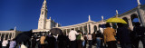 Tourists in Front of a Church, Our Lady of Fatima, Fatima, Portugal Wall Decal by Panoramic Images