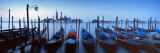 Row of Gondolas Moored Near a Jetty, Venice, Italy Wall Decal by  Panoramic Images