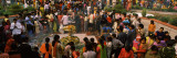 Devotees Worshipping in a Temple on Shivratri Festival, Delhi, India Wall Decal by  Panoramic Images