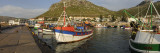 Fishing Boats at a Harbor, Kalk Bay, False Bay, Cape Town, Western Cape Province, South Africa Wall Decal by  Panoramic Images