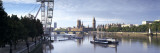 Boats in a River, Thames River, London, England Wall Decal by Panoramic Images