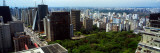 View of Cityscape, Trianon Park, Sao Paulo, Brazil Wall Decal by  Panoramic Images