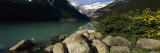 Stones at the Lakeside, Lake Louise, Banff National Park, Alberta, Canada Wall Decal by Panoramic Images
