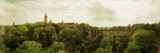 Arch Bridge in a Canyon, Adolphe Bridge, Luxembourg City, Luxembourg Wall Decal by  Panoramic Images