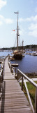 Sailboats at a Harbor, Camden, Knox County, Maine, USA Wall Decal by  Panoramic Images