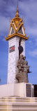 View of a Monument, Cambodia-Vietnam Friendship Monument, Phnom Penh, Cambodia Wall Decal by  Panoramic Images