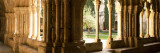 Corridors of a Monastery, Poblet Monastery, Conca De Barbera, Tarragona Province, Catalonia, Spain Wall Decal by  Panoramic Images