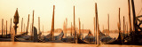 Gondolas Moored at a Harbor, San Marco Giardinetti, Venice, Italy Wall Decal by  Panoramic Images
