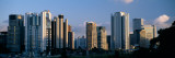Skyscrapers in a City, Citibank, Itaim Bibi, Sao Paulo, Brazil Wall Decal by  Panoramic Images