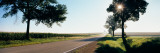 Road Passing Through Fields, Illinois Route 64, Illinois, USA Wall Decal by  Panoramic Images