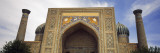 View of a Madrasa, Shir Dar Madrasa, Registan Square, Samarkand, Uzbekistan Wall Decal by  Panoramic Images