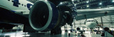 Airplanes in a Hangar, Mirabel Airport, Montreal, Quebec, Canada Wall Decal by  Panoramic Images