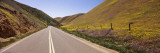 Road Passing Through Hills, California State Route 58, Kern County, California, USA Wall Decal by  Panoramic Images