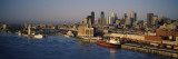 Harbor with the City Skyline, Montreal, Quebec, Canada Wall Decal by  Panoramic Images