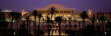 Opera House Lit Up at Dusk, Palau De La Musica, Valencia, Spain Wall Decal by  Panoramic Images