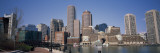Buildings in a City, Boston, Suffolk County, Massachusetts, USA Wall Decal by  Panoramic Images